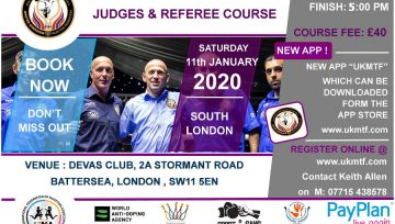 UKMF Judges and Referee Course